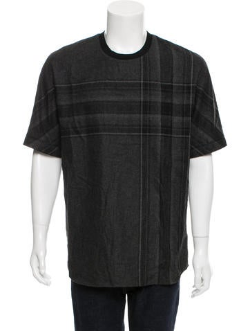 3.1 Phillip Lim Wool Crew Neck T-Shirt None