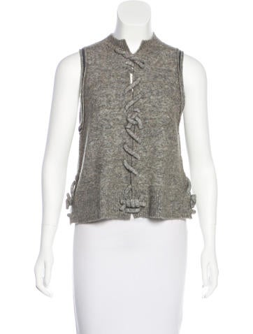 3.1 Phillip Lim Wool-Blend Sleeveless Top w/ Tags None