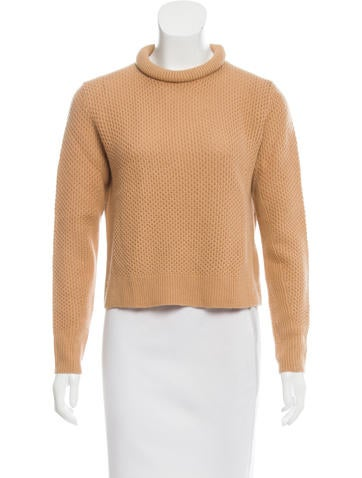 3.1 Phillip Lim Textured Wool Sweater None
