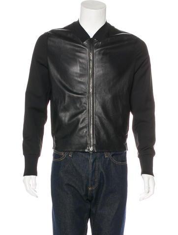 3.1 Phillip Lim Lambskin & Wool Jacket None
