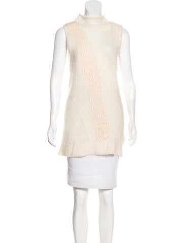 3.1 Phillip Lim Mohair-Blend Top None