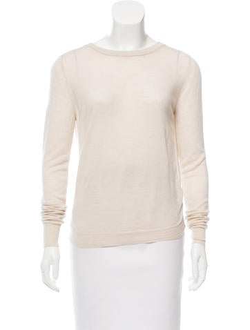 3.1 Phillip Lim Open Back Wool Sweater None