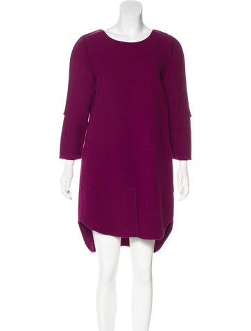 3.1 Phillip Lim Wool Shift Dress None