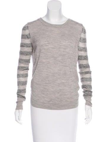 3.1 Phillip Lim Cutout Wool Sweater None