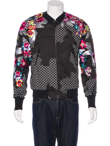 3.1 Phillip Lim Floral-Embroidered Jacket None