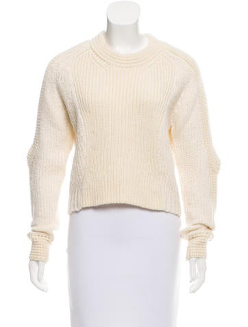 3.1 Phillip Lim Crew Neck Wool-Blend Sweater None