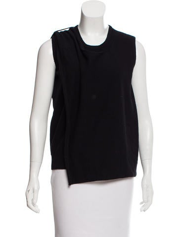 3.1 Phillip Lim Layered Wool Top None