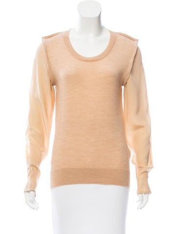 3.1 Phillip Lim Wool & Silk Sweater None