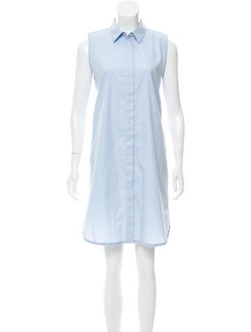Poplin Button-Up Dress