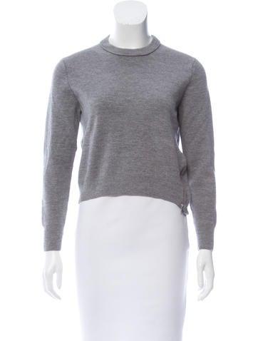3.1 Phillip Lim Asymmetric Wool Sweater None