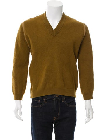 3.1 Phillip Lim Wool V-Neck Sweater None