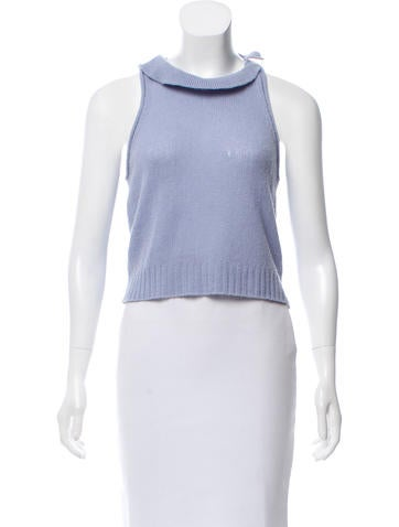 3.1 Phillip Lim Wool Sleeveless Sweater None