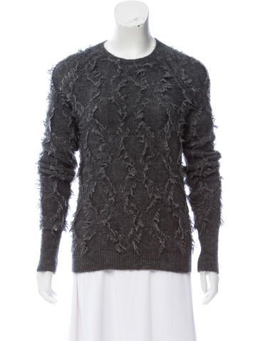 3.1 Phillip Lim Wool & Mohair Sweater None