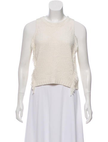 3.1 Phillip Lim Sleeveless Knit Sweater None