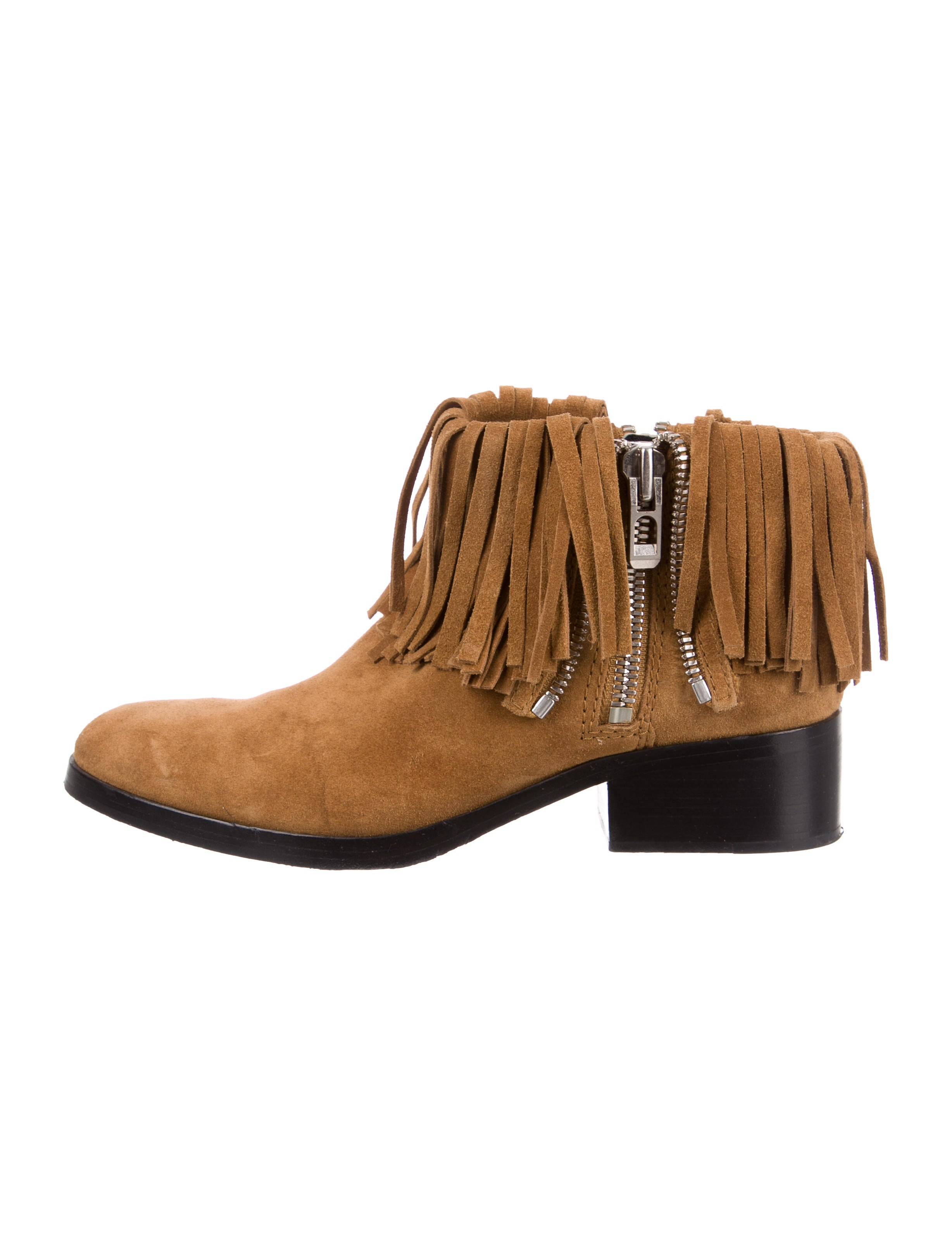 cheap sale low shipping fast delivery cheap online 3.1 Phillip Lim Fringe-Trimmed Ankle Boots buy cheap price agS83