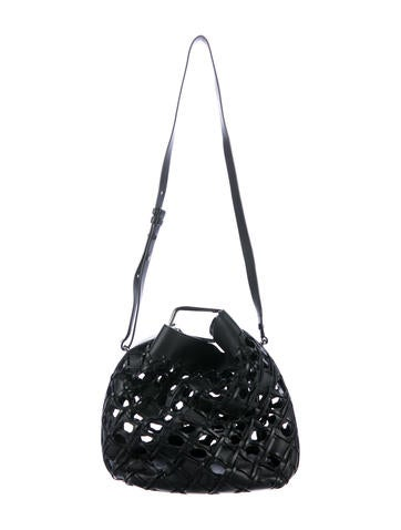8c7f1362da81 3.1 Phillip Lim. Cutout Quill Bucket Bag