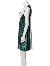 Silk Mini Dress w/ Tags image 2