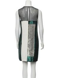 Silk Mini Dress w/ Tags image 3