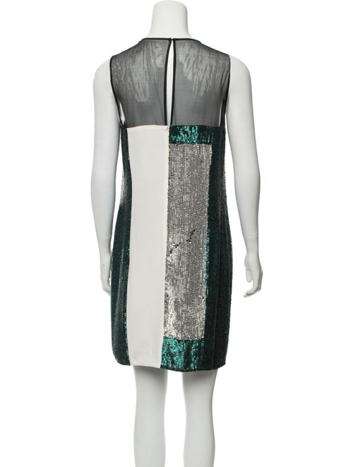 Silk Mini Dress w/ Tags