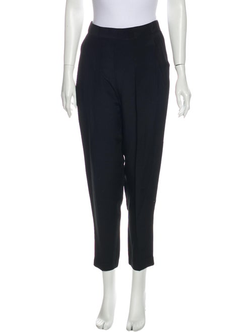 3.1 Phillip Lim Silk Skinny Leg Pants Black