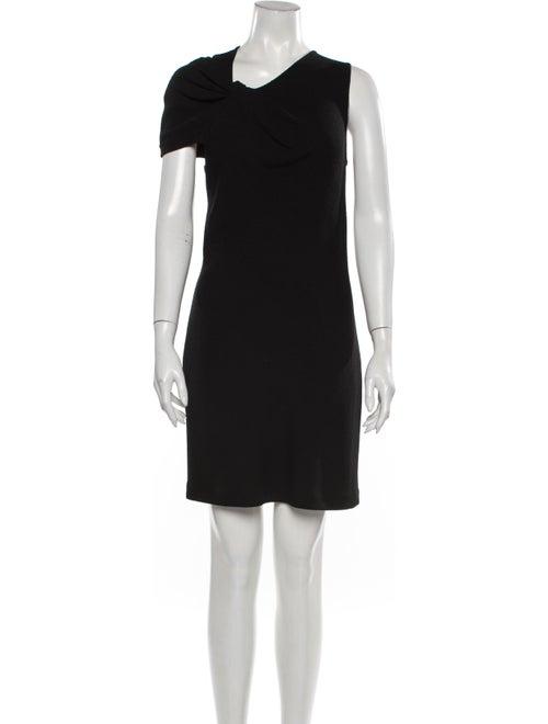 3.1 Phillip Lim Asymmetrical Mini Dress Black