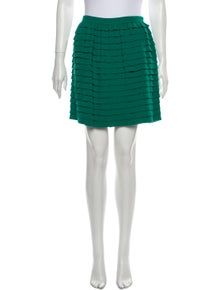 3.1 Phillip Lim Virgin Wool Mini Skirt