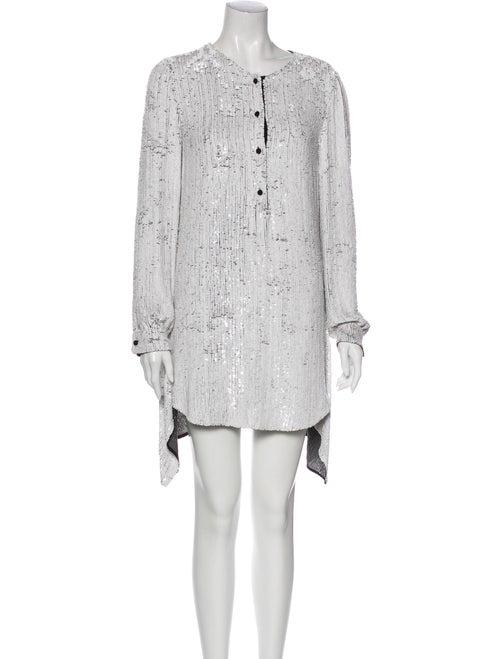 3.1 Phillip Lim Silk Knee-Length Dress White
