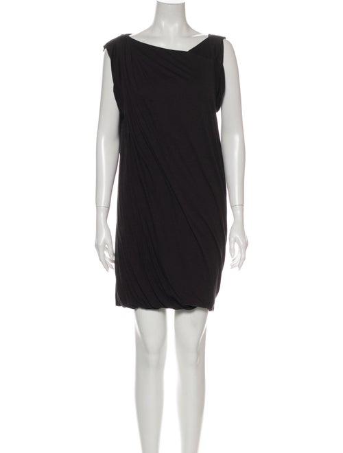 3.1 Phillip Lim Asymmetrical Mini Dress Grey
