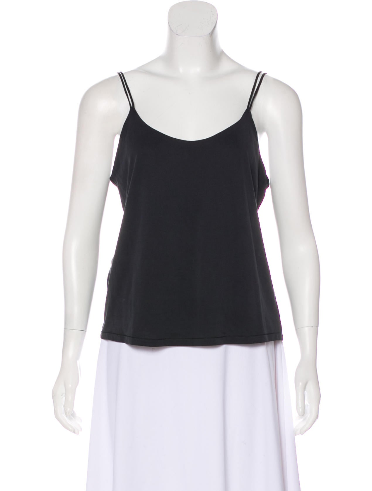 Bella Luxx Charcoal Grey Sleeveless Top Clothing W3320042 The