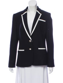 3c5d45f64d98 Ted Baker. Wool Long-Sleeve Blazer