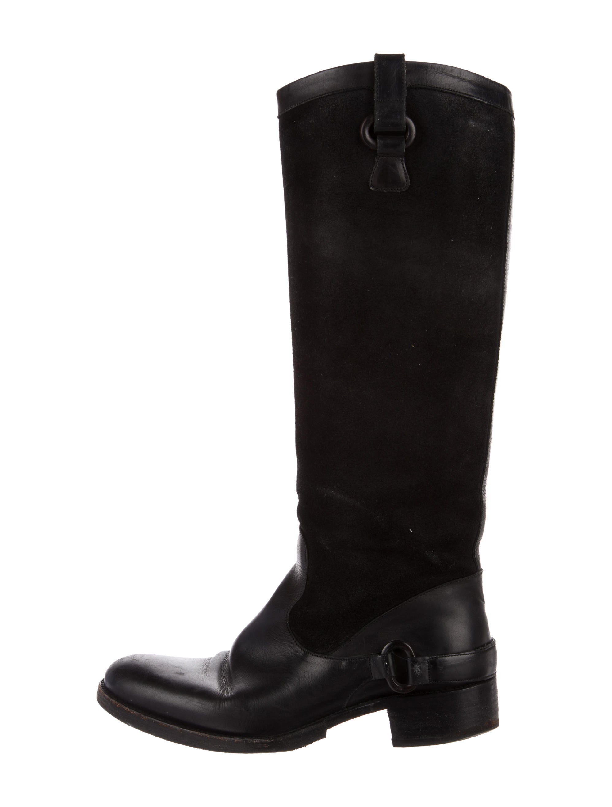 Sartore Suede Round-Toe Knee-High Boots outlet 2015 new cheap online shop 27oq6ib
