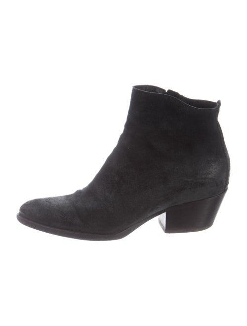 Sartore Nubuck Boots Black