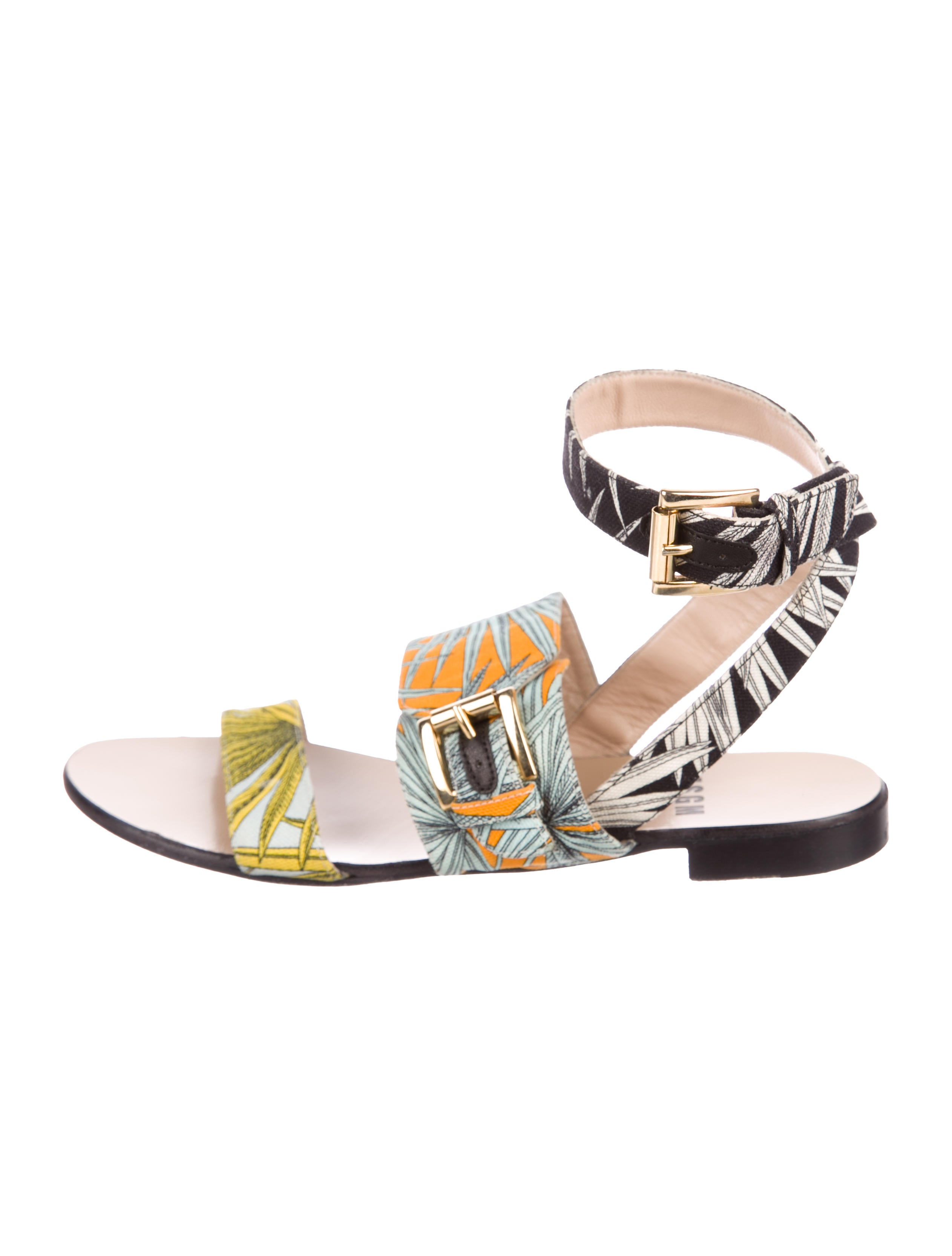 MSGM Canvas Multistrap Sandals cheap pick a best low price fee shipping cheap price high quality online shopping online high quality Texdo2oqJ