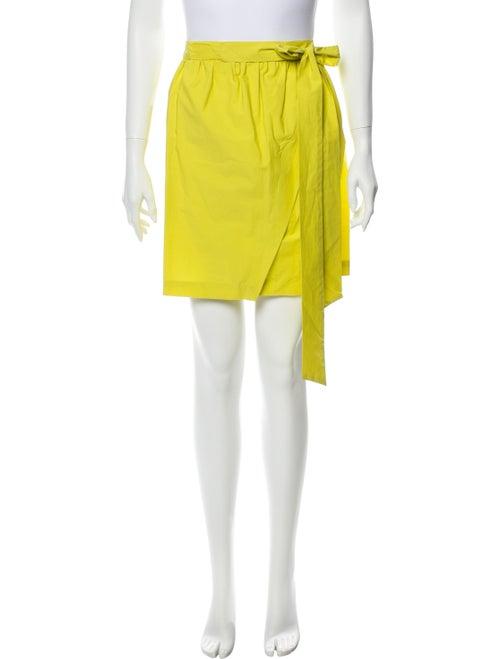 Msgm Mini Skirt Yellow