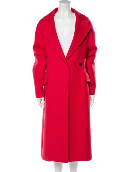 Msgm Trench Coat Pink