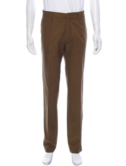 Msgm Dress Pants Green