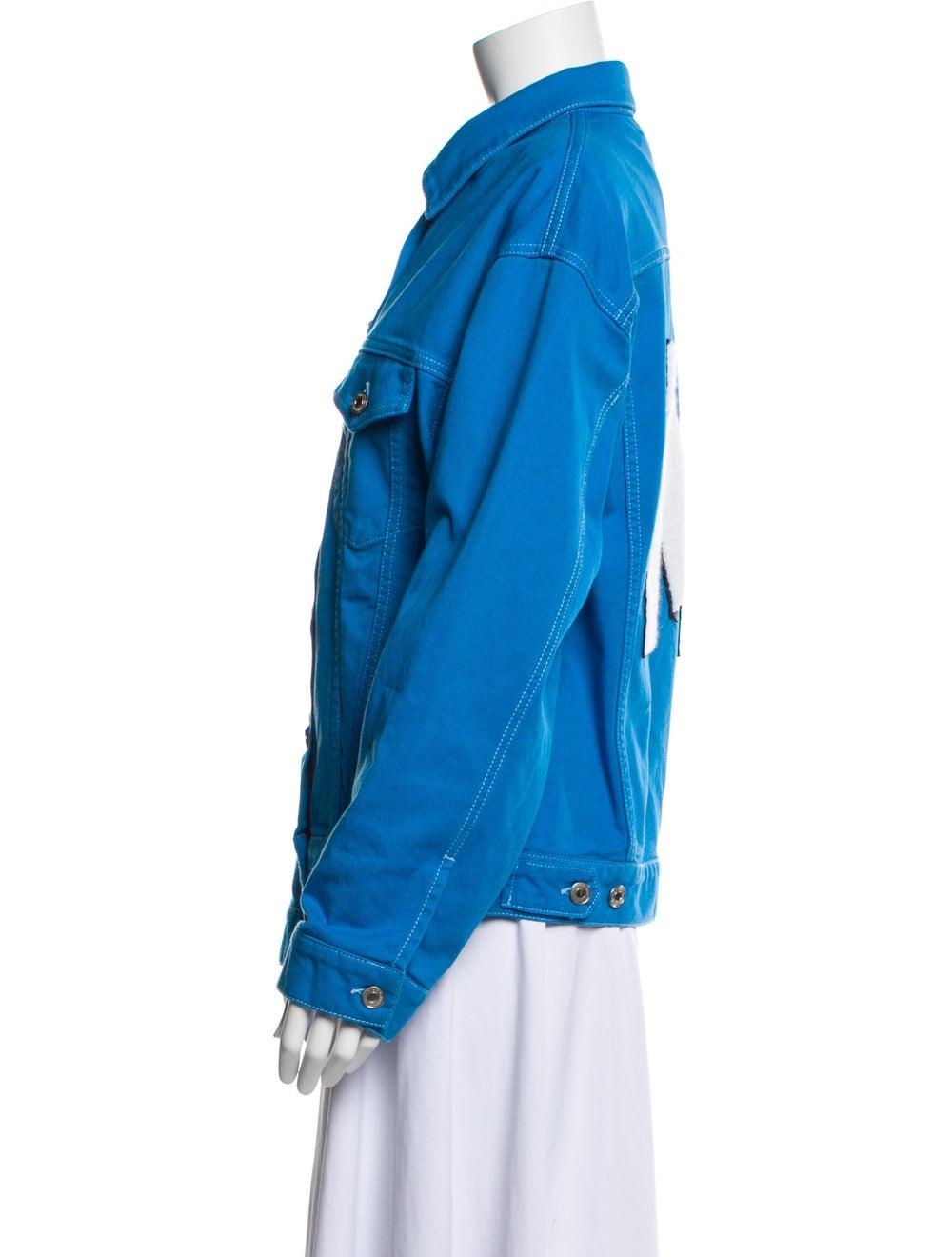 Msgm Denim Jacket Denim - image 2