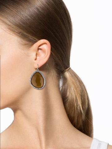 Single Nugget Drop Earrings