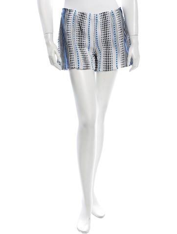 Lemlem Patterned Mini Shorts