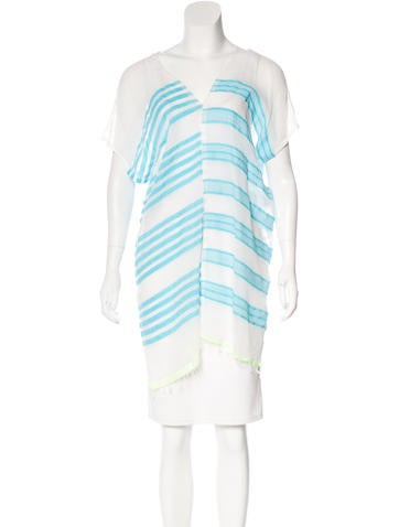 Lemlem Striped Sleeveless Tunic None