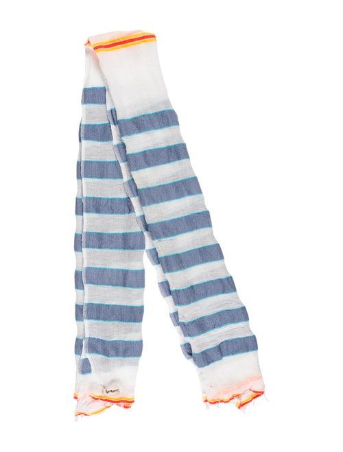 Lemlem Stripe Fringe scarf multicolor