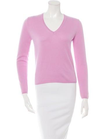Malo V-Neck Cashmere Sweater w/ Tags None