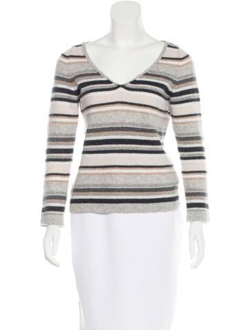 Malo Cashmere Striped Sweater None
