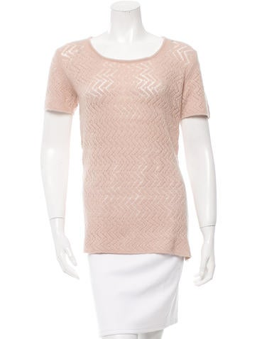 Malo Cashmere Patterned Top None