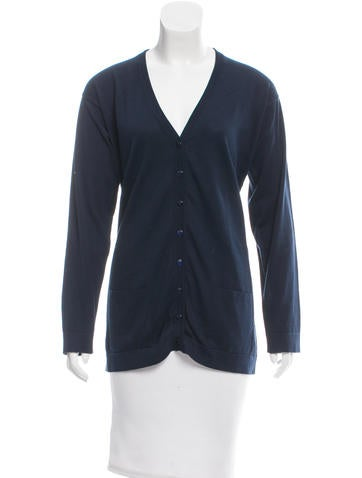 Malo Long Sleeve Knit Cardigan None