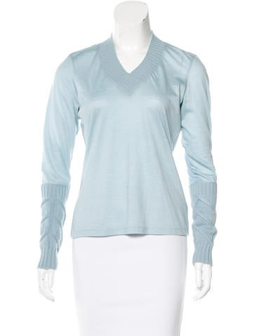 Malo Wool & Cashmere Top None