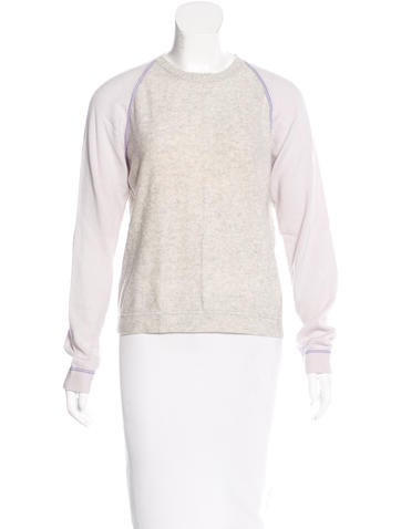 Malo Cashmere Colorblock Sweater None