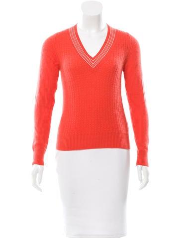 Malo Cable Knit Cashmere Sweater None