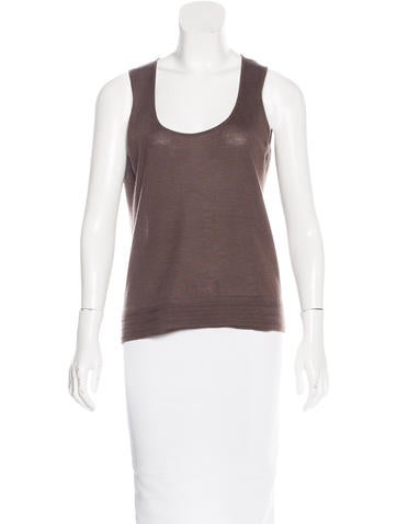 Malo Cashmere Sleeveless Top None