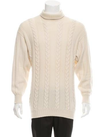 Malo Cashmere Cable-Knit Sweater None